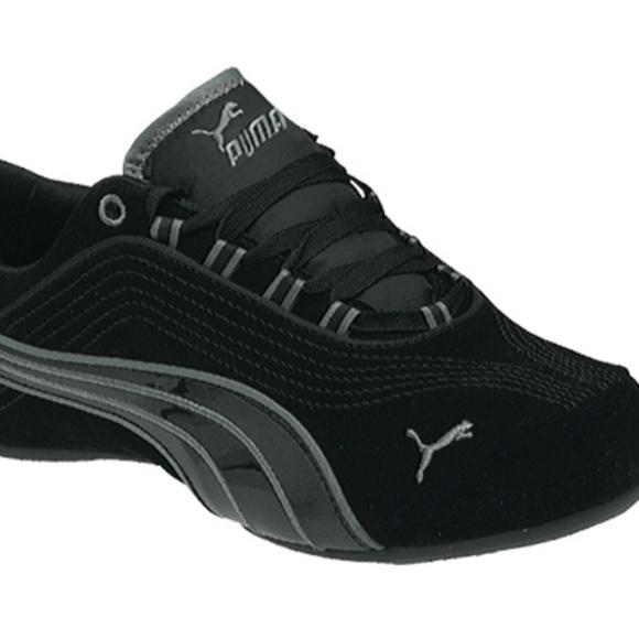 Puma Soleil Black Steel Gray Sneakers  3173. M 5acbc62adaa8f66194fd452a 9f386cd7b